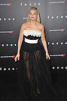 Margot Robbie at the Los Angeles premiere of her movie &quot;Focus&quot; at the TCL Chinese Theatre, Hollywood.<br /> February 24, 2015  Los Angeles, CA<br /> Picture: Paul Smith / Featureflash