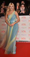 Holly Willoughby attending the National Television Awards 2018 at The O2 Arena on January 23, 2018 in London, England. <br /> CAP/Phil Loftus<br /> &copy;Phil Loftus/Capital Pictures