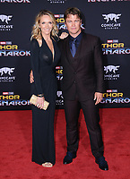 10 October  2017 - Hollywood, California - Luke Hemsworth. World Premiere of &quot;Thor: Ragnarok&quot; held at The El Capitan Theater in Hollywood. <br /> CAP/ADM/BT<br /> &copy;BT/ADM/Capital Pictures