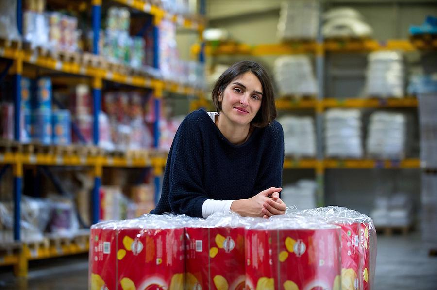 Delphine Brosse, société Sibell chips - Aubagne