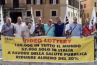 Protesta piccoli costruttori e gestori vlt contro video lottery