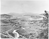View of Placer (later Russell) showing settlement and D&amp;RG railroad facilities.<br /> D&amp;RG  Russell, CO  Taken by Davis, O. T. - ca. 1897