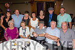 Michael O'Callaghan from from Kevin Barry celebrates his 80th birthday with family and Friends at the Meadowland Hotel on Saturday. Front Joan Pitman, Maureen Sheehan, Michael O'Callaghan, Jeremiah O'Callaghan, Steven O'Callaghan Back l-r Caroline Simpson, David O'Callaghan, Ann McCarthy, Mary Carmody, Sally O'Callaghan, John Callaghan and Michael O'Callaghan Jr.