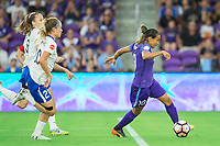 Orlando, FL - Saturday June 03, 2017: Angela Salem, Marta, Christen Westphal during a regular season National Women's Soccer League (NWSL) match between the Orlando Pride and the Boston Breakers at Orlando City Stadium.