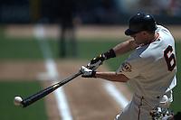 J.T. Snow. Florida Marlins vs San Francisco Giants. San Francisco, CA 5/1/2004 MANDATORY CREDIT: Brad Mangin