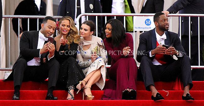 WWW.ACEPIXS.COM<br /> <br /> May 4 2015, New York City<br /> <br /> John Legend, Chrissy Teigen, Emily Ratajkowski, Gabrielle Union and Dwyane Wade leaving the 2015 Met Gala on May 4 2015 in New York City<br /> <br /> By Line: Nancy Rivera/ACE Pictures<br /> <br /> <br /> ACE Pictures, Inc.<br /> tel: 646 769 0430<br /> Email: info@acepixs.com<br /> www.acepixs.com