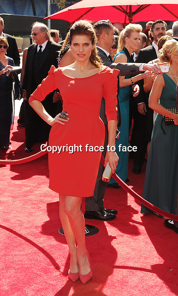 LOS ANGELES, CA- SEPTEMBER 15: Actress Lake Bell attends the 2013 Creative Arts Emmy Awards at Nokia Theatre L.A. Live on September 15, 2013 in Los Angeles, California.<br /> Credit: Mayer/face to face<br /> - No Rights for USA, Canada and France -