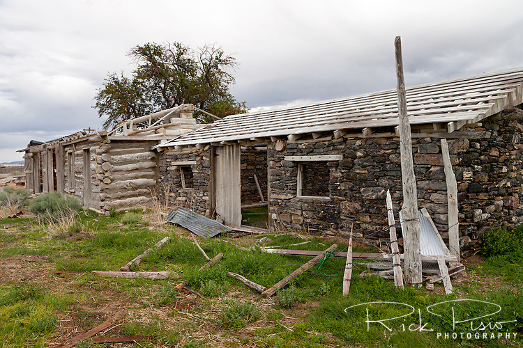 Tippets Ranch, which lies along the Lincoln Highway in Eastern Nevada, was in use from the early 1900's and closed in the 1970's.