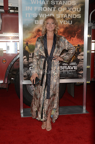 WESTWARD, CA - OCTOBER 8: Zoe Bell at the Only The Brave World Premiere at the Village Theater in Westwood, California on October 8, 2017. Credit: David Edwards/MediaPunch