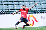 Muangthong United Defender Mario Alvarez in action during the 2017 Lunar New Year Cup match between Muangthong United FC and FC Seoul on January 31, 2017 in Hong Kong, Hong Kong. Photo by Marcio Rodrigo Machado / Power Sport Images