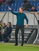 Julian NAGELSMANN, Chef-Trainer  TSG Hoffenheim<br /> TSG 1899 HOFFENHEIM - ISTANBUL Basaksehir  3-0<br /> Gruppe C, Football UEFA Europa League, Hoffenheim, 19.10.2017<br /> EL Saison 2017/2018<br /> <br />  *** Local Caption *** © pixathlon +++ tel. +49 - (040) - 22 63 02 60 - mail: info@pixathlon.de