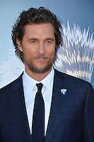 LOS ANGELES, CA. December 3, 2016: Actor Matthew McConaughey at the world premiere of &quot;Sing&quot; at the Microsoft Theatre LA Live.<br /> Picture: Paul Smith/Featureflash/SilverHub 0208 004 5359/ 07711 972644 Editors@silverhubmedia.com