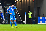 01.12.2018, wirsol Rhein-Neckar-Arena, Sinsheim, GER, 1 FBL, TSG 1899 Hoffenheim vs FC Schalke 04, <br /> <br /> DFL REGULATIONS PROHIBIT ANY USE OF PHOTOGRAPHS AS IMAGE SEQUENCES AND/OR QUASI-VIDEO.<br /> <br /> im Bild: Frust bei Pavel Kaderabek (TSG Hoffenheim #3)<br /> <br /> Foto © nordphoto / Fabisch