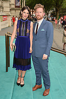 Jessica Raine and husband, Tom Goodman Hill<br /> arrives for the V&amp;A Summer Party 2016, South Kensington, London.<br /> <br /> <br /> &copy;Ash Knotek  D3135  22/06/2016