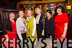 Mary O'Sullivan, Ann Cusack, Siobhan Foley, Suzanne Boyle, Georgina Dempsey, Eileen O' Donovan enjoying the Recovery Haven Christmas Party at the Meadowlands Hotel on Thursday