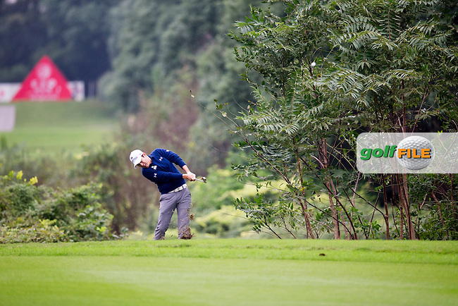 K.T. Kim (KOR) on the 2nd during round 2 at the WGC-HSBC Champions, Sheshan International GC, Shanghai, China PR.  28/10/2016<br /> Picture: Golffile   Fran Caffrey<br /> <br /> <br /> All photo usage must carry mandatory copyright credit (&copy; Golffile   Fran Caffrey)