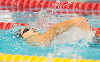 Picture by Allan McKenzie/SWpix.com - 14/12/2017 - Swimming -Swim England Winter Champs - Ponds Forge International Sports Centre - Sheffield, England - Charlotte Evans races to gold in the womens open 100m backstroke.