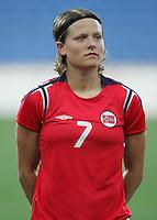 MAR 13, 2006: Faro, Portugal:  Trine Ronning