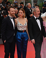 "CANNES, FRANCE. May 22, 2019: Antoine Reinartz, Lea Seydoux & Arnaud Desplechin at the gala premiere for ""Oh Mercy!"" at the Festival de Cannes.<br /> Picture: Paul Smith / Featureflash"