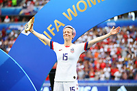 Celebration Megan Rapinoe (USA) meilleure Goaleuse  trophee Adidas<br /> Lyon 07/07/2019<br /> Football Womens World Cup Final <br /> United States - Netherlands <br /> Photo  Gwendoline LeGoff / Panoramic/Insidefoto <br /> ITALY ONLY