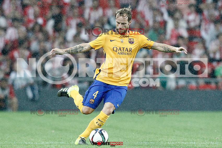 FC Barcelona's Ivan Rakitic during Supercup of Spain 1st match.August 14,2015. (ALTERPHOTOS/Acero)