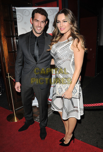 Jeremy Parisi &amp; Kelly Brook attend the Eastern Seasons Week gala dinner, Madame Tussaud's ( London ), Marylebone Road, London, UK, on Monday 30 November 2015.<br /> CAP/CAN<br /> &copy;Can Nguyen/Capital Pictures