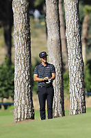 Thorbjorn Olesen (DEN) on the 3rd hole during Saturday's Round 3 of the 2018 Turkish Airlines Open hosted by Regnum Carya Golf &amp; Spa Resort, Antalya, Turkey. 3rd November 2018.<br /> Picture: Eoin Clarke | Golffile<br /> <br /> <br /> All photos usage must carry mandatory copyright credit (&copy; Golffile | Eoin Clarke)