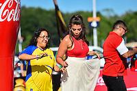 Foxborough, MA - Saturday June 18, 2016: Fan, Sponsor prior to a Copa America Centenario quarterfinal match between Argentina (ARG) and Venezuela (VEN)  at Gillette Stadium.