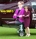 Nicola Sturgeon 30th Apr Helicopter