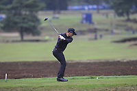 Haydn Porteous (RSA) on the 14th tee during Round 4 of the Sky Sports British Masters at Walton Heath Golf Club in Tadworth, Surrey, England on Sunday 14th Oct 2018.<br /> Picture:  Thos Caffrey | Golffile