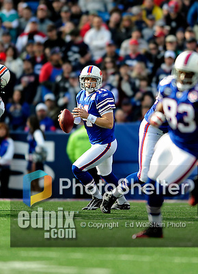 29 November 2009: Buffalo Bills quarterback Ryan Fitzpatrick in action against the Miami Dolphins at Ralph Wilson Stadium in Orchard Park, New York. The Bills defeated the Dolphins 31-14. Mandatory Credit: Ed Wolfstein Photo