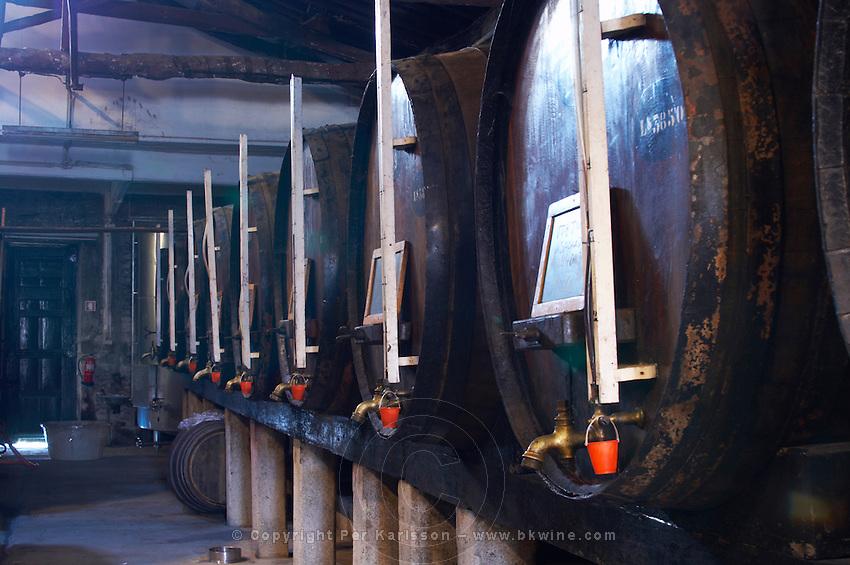 wooden vats quinta do noval douro portugal