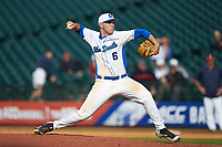 Duke Blue Devils relief pitcher Jack Labosky (6) in action against the Virginia Cavaliers in Game Seven of the 2017 ACC Baseball Championship at Louisville Slugger Field on May 25, 2017 in Louisville, Kentucky. The Blue Devils defeated the Cavaliers 4-3. (Brian Westerholt/Four Seam Images)