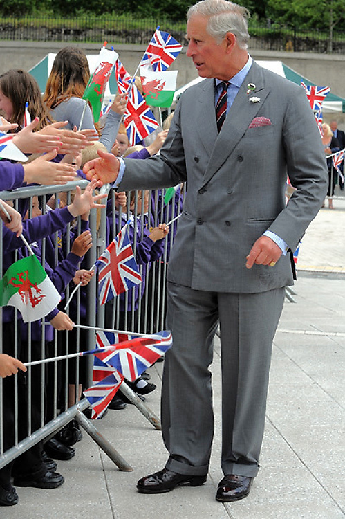 HRH Prince Charles<br /> <br /> <br /> Jeff Thomas Photography<br /> www.jaypics.photoshelter.com<br /> e-mail swansea1001@hotmail.co.uk<br /> Mob: 07837 386244<br /> <br /> The visit of HRH Prince Charles to Ebbw Fawr school in Blaenau Gwent, South Wales