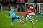 Independiente Santa Fe venció 4-1 (4-1 en el global) a Jaguares. Cuartos de final vuelta Liga Águila II-2017.