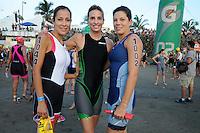 Triatlón Sports World Veracruz 2013- Ana Mondragón, Tere Chávez, Miriam Bravo. ©NortePhoto.com ..<br /> YahirCeballos/NortePhoto