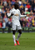 Pictured: Modou Barrow of Swansea<br />