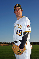 Feb 28, 2010; Bradenton, FL, USA; Pittsburgh Pirates  pitcher Ross Ohlendorf (49) during  photoday at Pirate City. Mandatory Credit: Tomasso De Rosa/ Four Seam Images