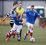 Youngsters Danny Stoney and Andy Murdoch set up an attack for Rangers