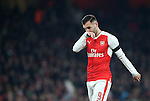 Arsenal's Lucas Perez looks on dejected during the EFL Cup match at the Emirates Stadium, London. Picture date October 30th, 2016 Pic David Klein/Sportimage