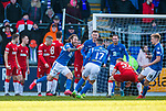 23.02.2020 St Johnstone v Rangers: Stevie May scores to make it 2-2 and celebrates
