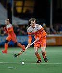 AMSTELVEEN - Seve van Ass (Ned)   tijdens de hockeyinterland Nederland-Ierland (7-1) , naar aanloop van het WK hockey in India. COPYRIGHT KOEN SUYK