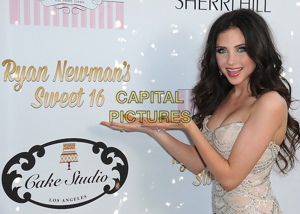 HOLLYWOOD, CA - APRIL 27:   Ryan Newman at Ryan Newman's &quot;Glitz and Glam&quot; Sweet 16 at the Emerson Theater on April 27, 2014 in Hollywood, California.  <br /> CAP/MPI/PGSK<br /> &copy;PGSK/MediaPunch/Capital Pictures
