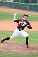 Jake Borup, Arizona State Sun Devils.Photo by:  Bill Mitchell/Four Seam Images.