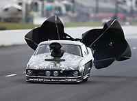 May 5, 2017; Commerce, GA, USA; NHRA pro mod driver Mike Knowles during qualifying for the Southern Nationals at Atlanta Dragway. Mandatory Credit: Mark J. Rebilas-USA TODAY Sports