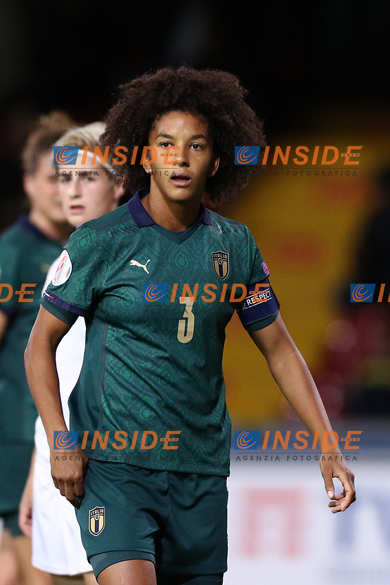 Sara Gama of Italy<br /> Benevento 08-11-2019 Stadio Ciro Vigorito <br /> Football UEFA Women's EURO 2021 <br /> Qualifying round - Group B <br /> Italy - Georgia<br /> Photo Cesare Purini / Insidefoto