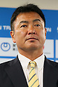 Kenjiro Iijima (JPN), June, 2012 - Triathlon : Japanese Triathlon  team member ateend press conference about the London 2012 Summer Olympic Games in Tokyo, Japan. (Photo by Yusuke Nakanishi/AFLO SPORT) [1090]