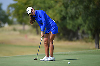 Maria Fassi (MEX) watches her putt on 10 during the round 2 of the Volunteers of America Texas Classic, the Old American Golf Club, The Colony, Texas, USA. 10/4/2019.<br /> Picture: Golffile | Ken Murray<br /> <br /> <br /> All photo usage must carry mandatory copyright credit (© Golffile | Ken Murray)