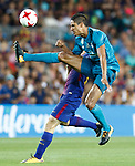 Real Madrid's Raphael Varane during Supercup of Spain 1st match. August 13,2017. (ALTERPHOTOS/Carrusan)