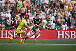 New Zealand vs Australia during the HSBC Sevens Wold Series match of the Cathay Pacific / HSBC Hong Kong Sevens at the Hong Kong Stadium on 28 March 2015 in Hong Kong, China. Photo by Victor Fraile / Power Sport Images